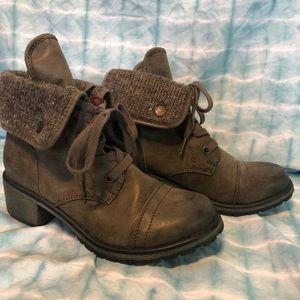 Roxy Pepper Combat Boots Size 7.5